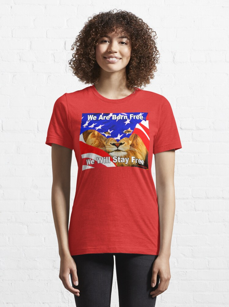 Alternate view of State of the Lion Essential T-Shirt