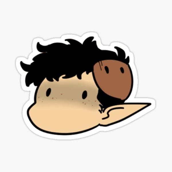 Paddock Whitlaw Chibi Sticker