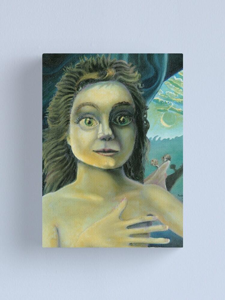 Alternate view of Pandora Canvas Print