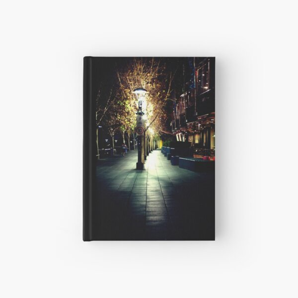 And I saw that the path was dark Hardcover Journal