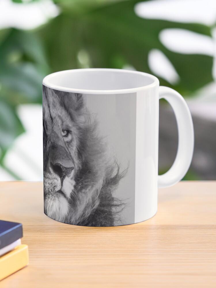 Lion King Portrait Mug By Herrybert Redbubble