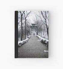 Lonely footsteps Hardcover Journal