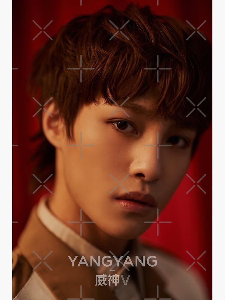 Yangyang Wayv Nct China Greeting Card By Michiyo Goods Redbubble