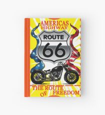 America Highway Route 66 the Route of Freedom Novelty Gifts. Hardcover Journal