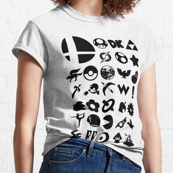 Smashing Series - Super Smash Bros Classic T-Shirt