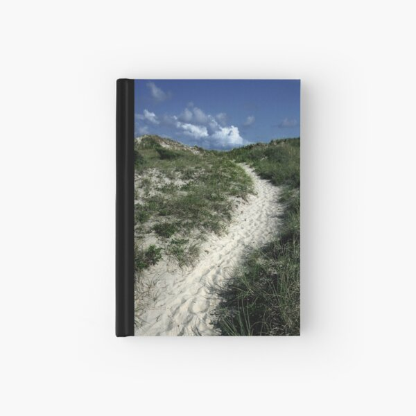 A Sandy Stairway to Heaven  Hardcover Journal