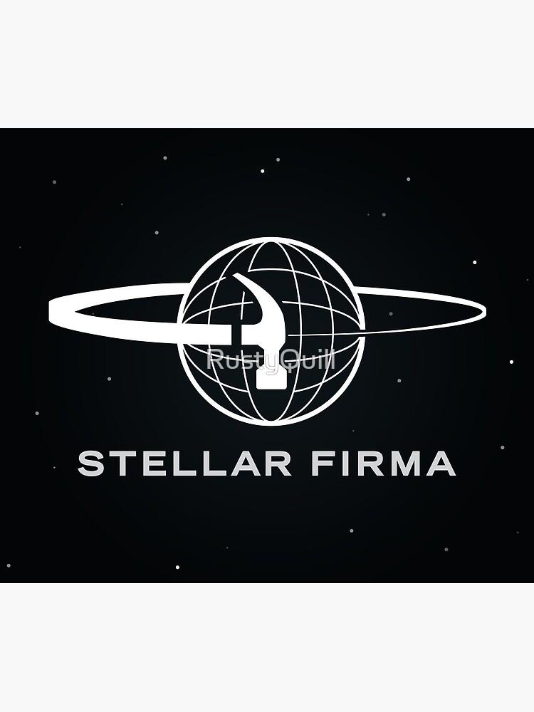 Stellar Firma Podcast Logo by RustyQuill