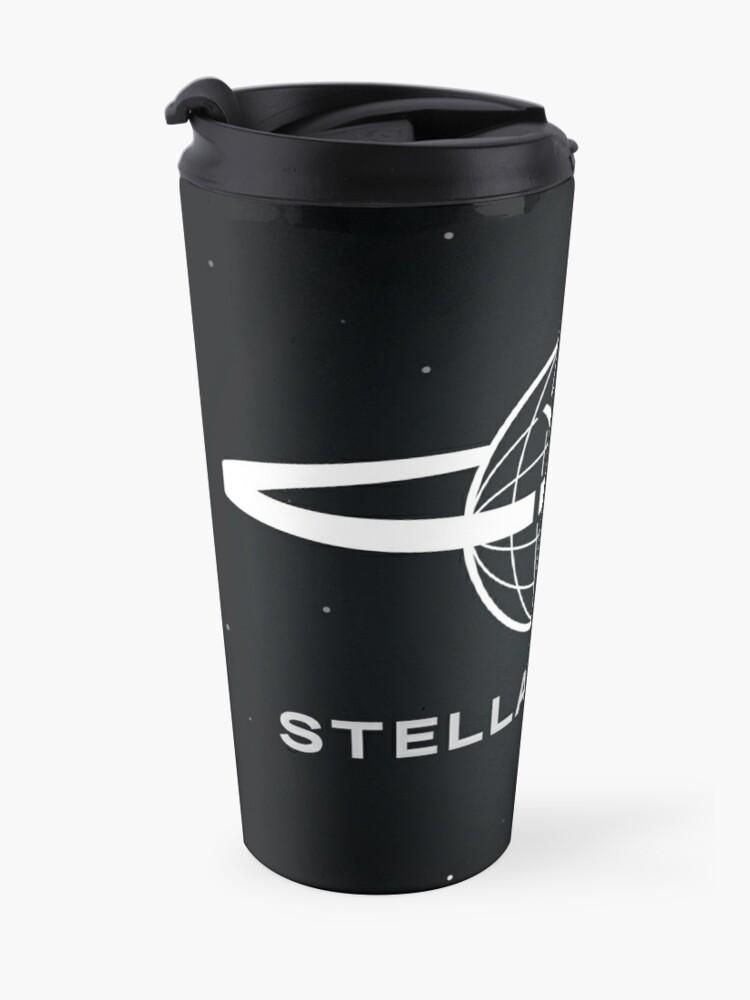 Alternate view of Stellar Firma Podcast Logo Travel Mug
