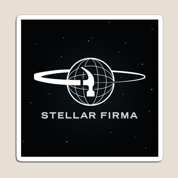 Stellar Firma Podcast Logo Magnet