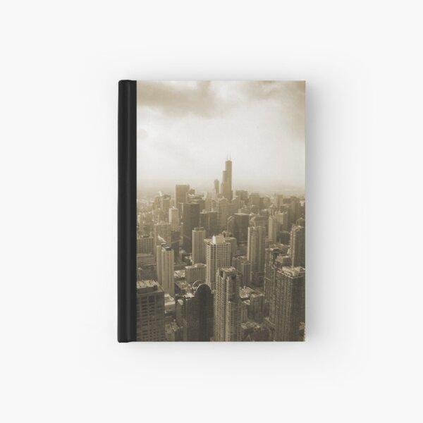 Chicago Skyline Mono Hardcover Journal