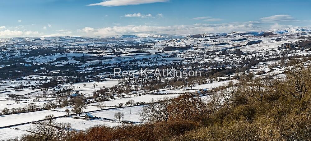 Schneebedecktes Wensleydale von Reg-K-Atkinson