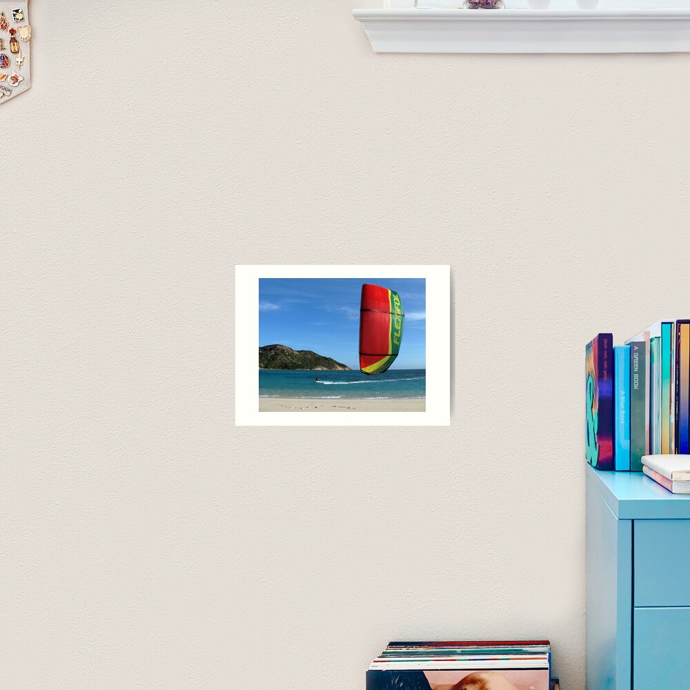 Lynita's Lagoon Art Print