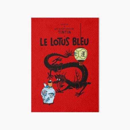 Der Blaue Lotos Galeriedruck