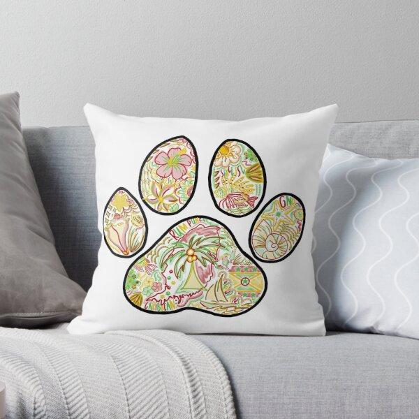 PAWPRINT - GRENADA Throw Pillow
