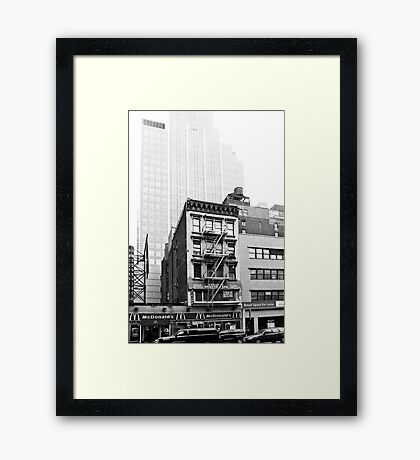 Vague memories Framed Print