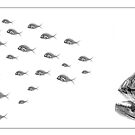 Hungry Fish by Paul CESSFORD