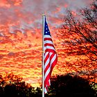 AWESOME SKY & FLAG by TomBaumker