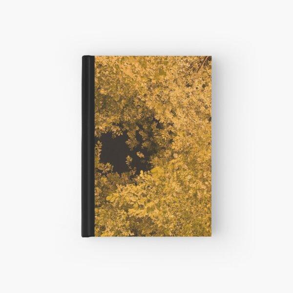 Golden Canopy Hardcover Journal