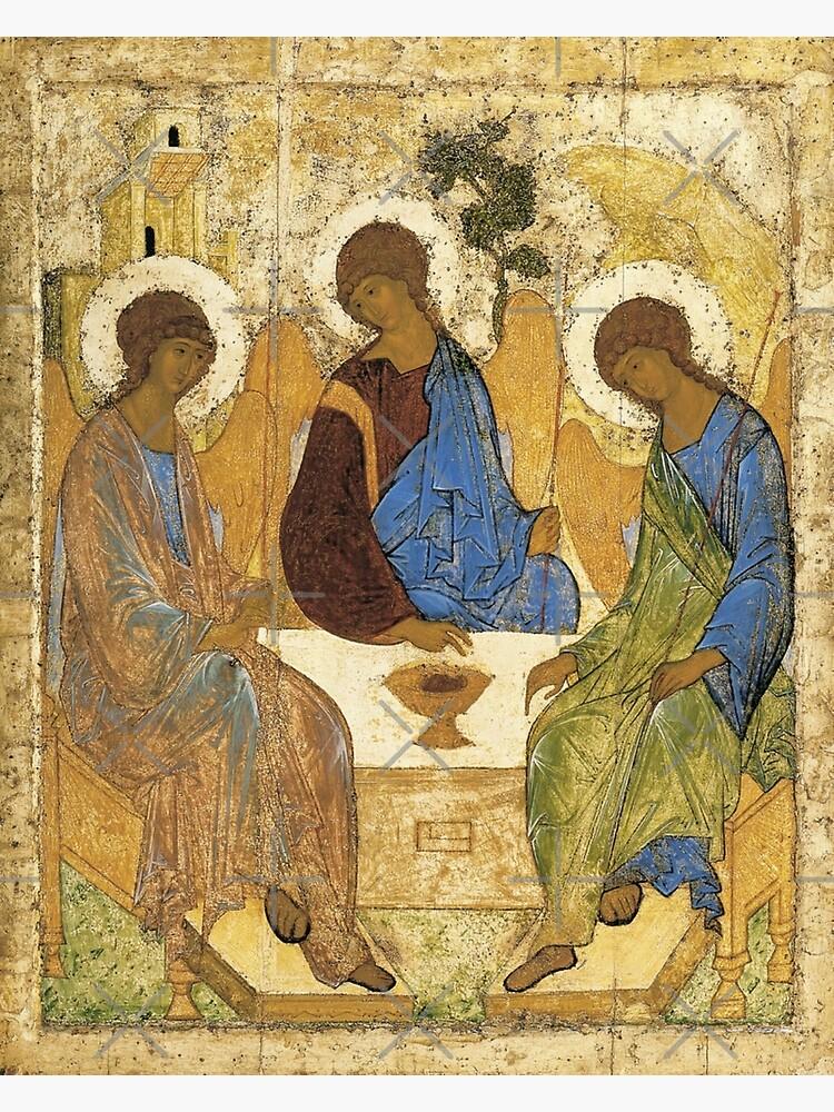 The Trinity : The Hospitality of Abraham by koo17leon