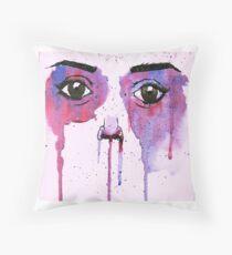 Face Illustration! Throw Pillow