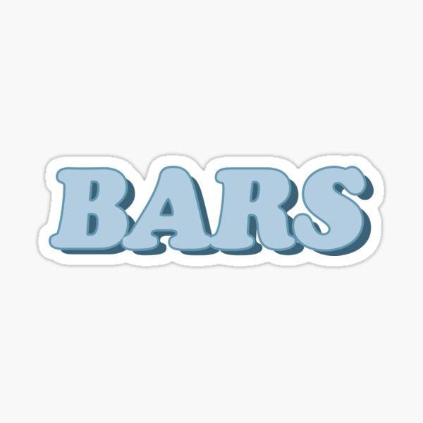 Noel Miller BARS Sticker Sticker