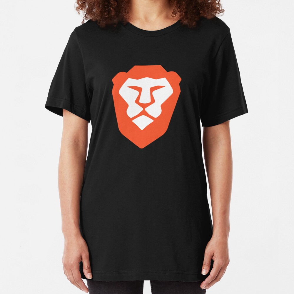 Be Brave! Slim Fit T-Shirt