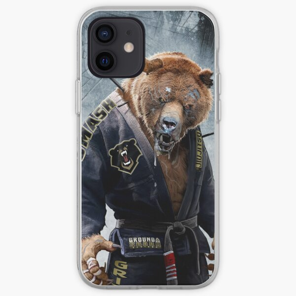 Grizzly Jiu Jitsu iPhone Soft Case