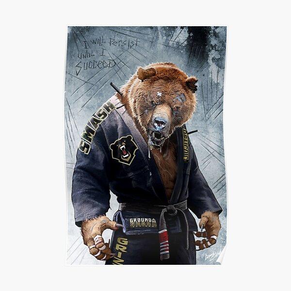 Grizzly Jiu Jitsu Poster