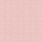 Crosshatch Red by Eric Pauker