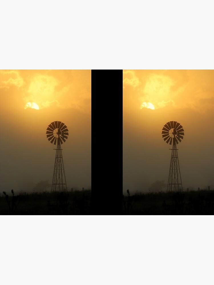 Windmill Sunrise by theoddshot