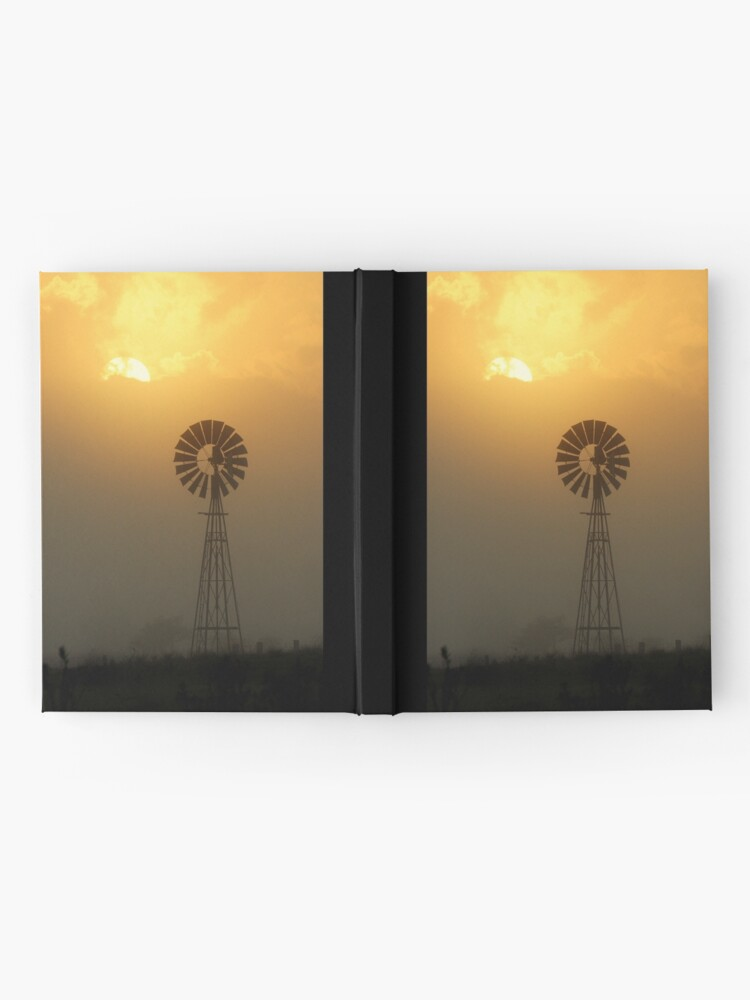 Alternate view of Windmill Sunrise Hardcover Journal