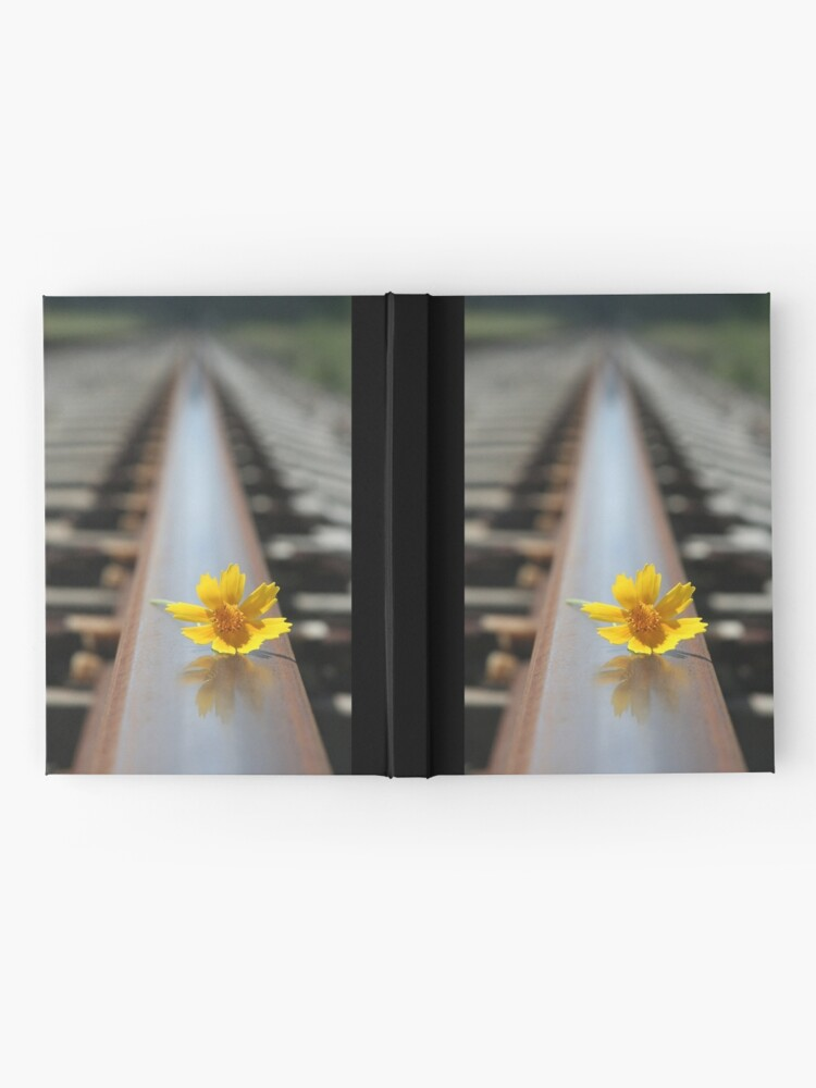 Alternate view of Waiting for the train... Hardcover Journal