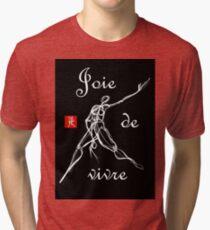 Lebensfreude oder Lebensfreude Vintage T-Shirt