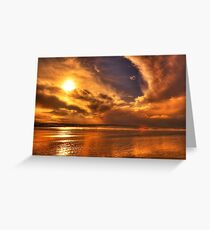 Golden touch of Nature Greeting Card
