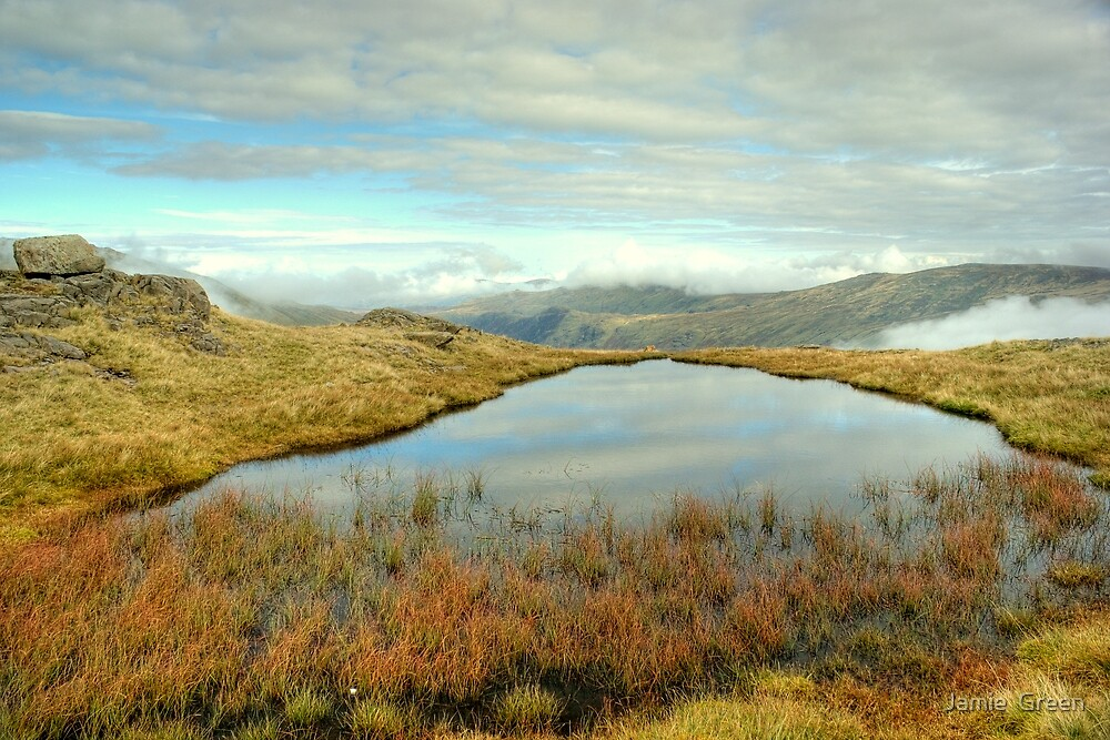 A Tarn Above Langstrath by Jamie  Green