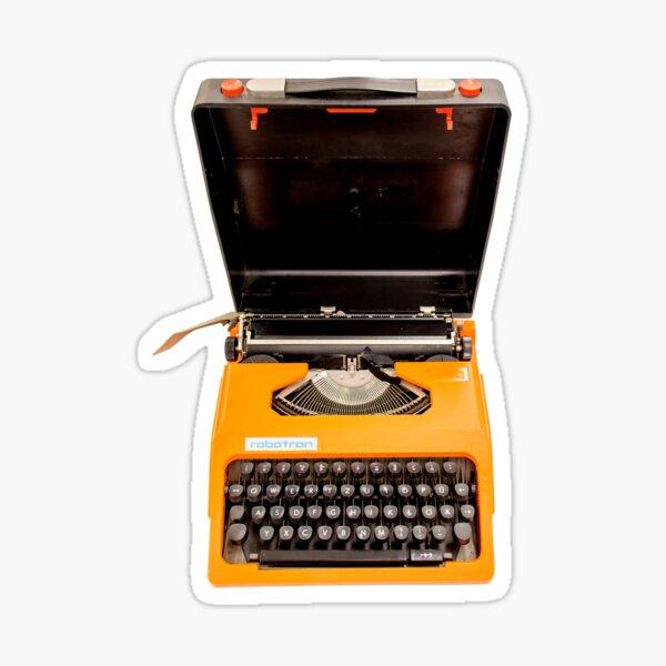 Vintage type writer ROBOTRON Sticker