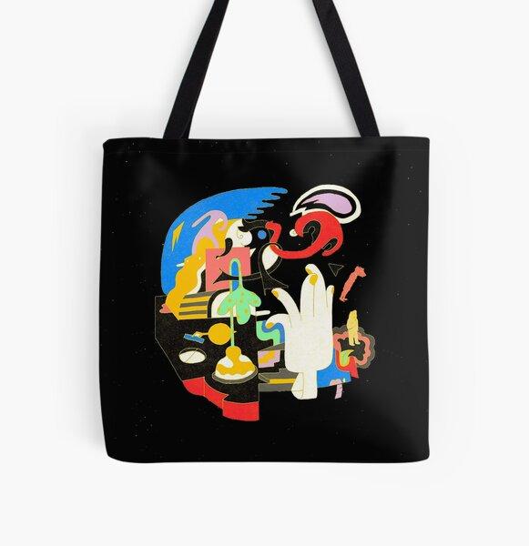 Mac Miller - Faces  All Over Print Tote Bag