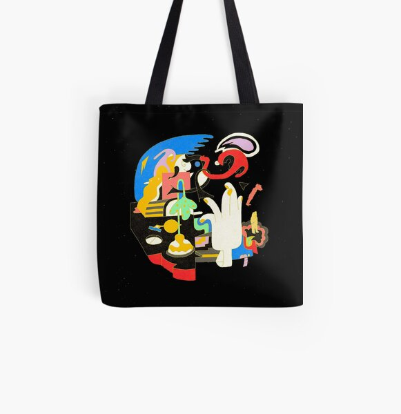 Mac Miller - Faces  All Over Print Tote Bag