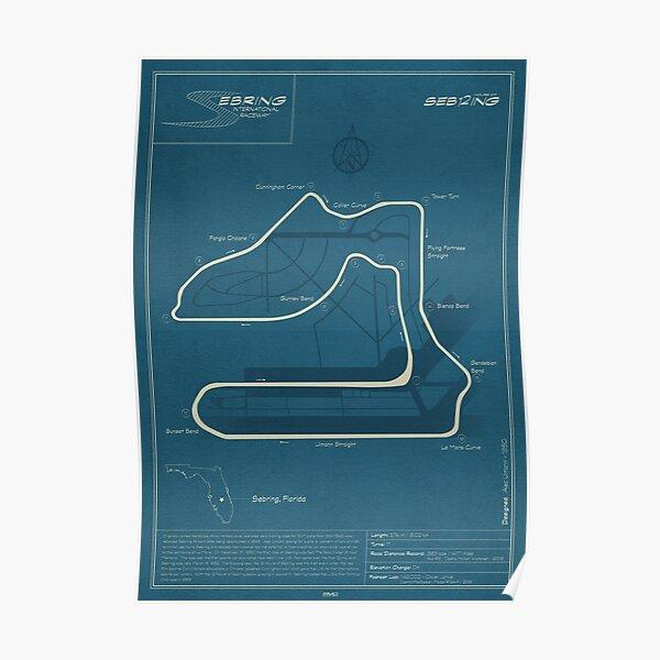 Sebring International Raceway Poster