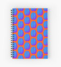 Psychedelic Brain Spiral Notebook