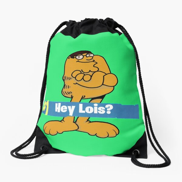 Peter Griffin Garlfield Victory Royale Hey Lois? Drawstring Bag