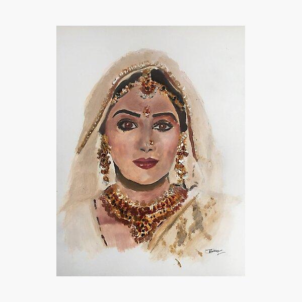 Sri Devi Photographic Print