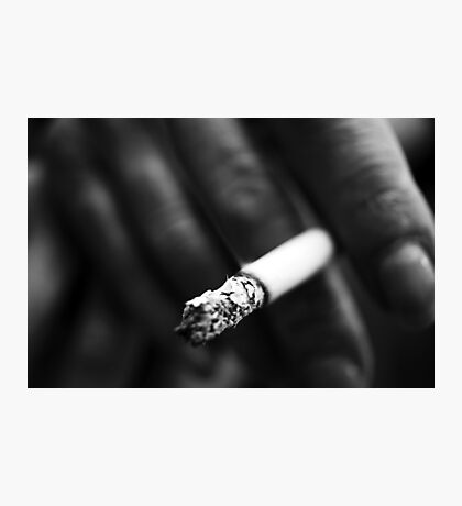 Smoker Photographic Print