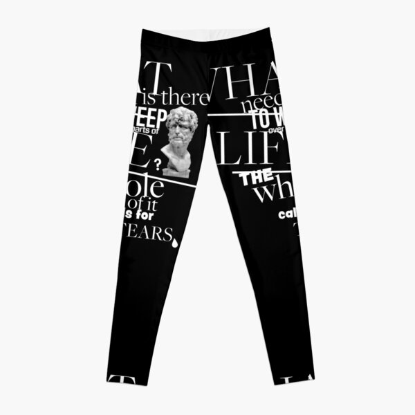 The Whole of it Calls for Tears Leggings