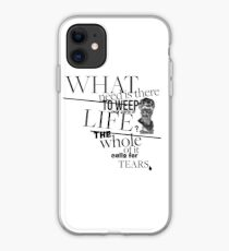 The Whole of it Calls for Tears - White iPhone Case