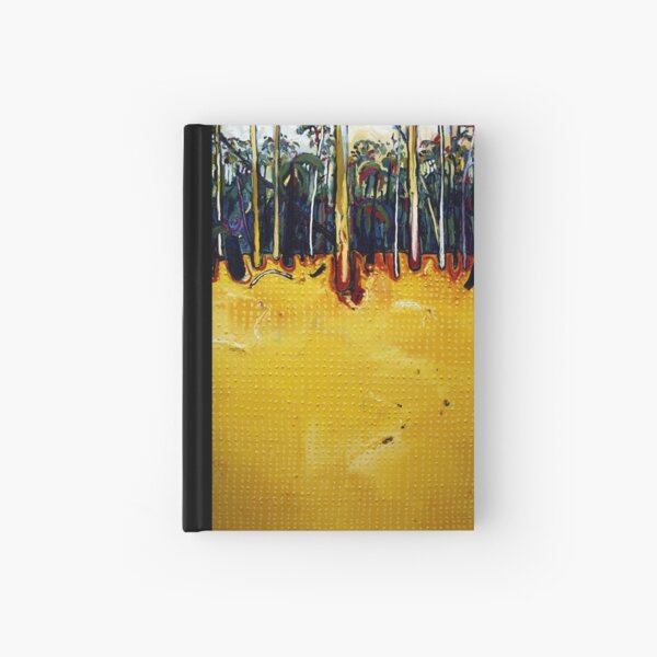 """Yellow Landscape"" 2005 Hardcover Journal"