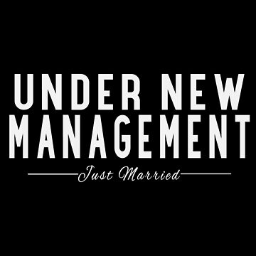 Under New Management, Just Married Wedding by TomCage
