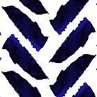 «Espiga de azul marino minimalista» de cadinera