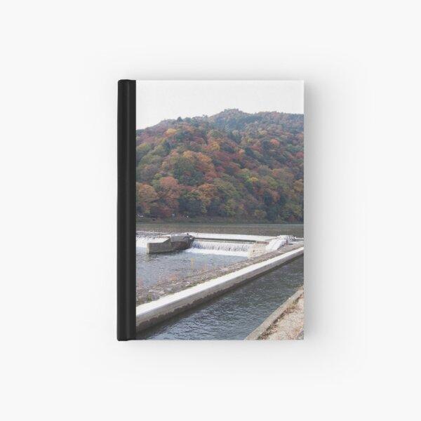 autumn in arashiyama Hardcover Journal