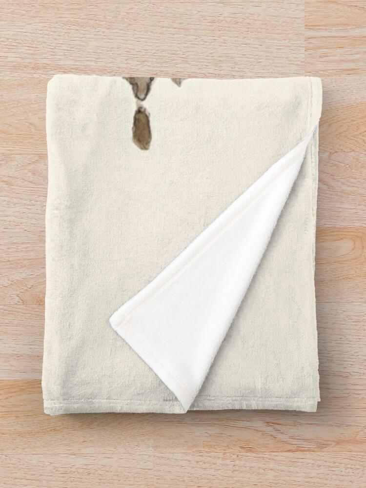 Alternate view of Filthy Pig Throw Blanket